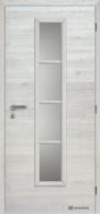 Masonite interiérové dveře AXIS SKLO laminát deluxe