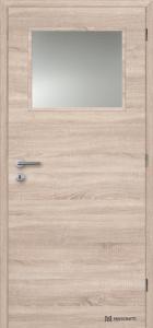 Masonite interiérové dveře 1/3 SKLO laminát deluxe bardolino horizontální