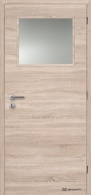 Masonite interiérové dveře 1/3 SKLO laminát deluxe
