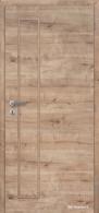 Masonite interiérové dveře VERTIKA PLNÉ laminát deluxe