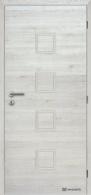 Masonite interiérové dveře QUADRA PLNÉ laminát deluxe