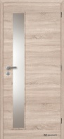 Masonite interiérové dveře VERTIKA SKLO laminát deluxe