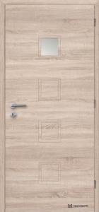 Masonite interiérové dveře QUADRA 1 laminát deluxe bardolino