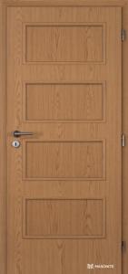Dveře Masonite Dominant plné fólie dub