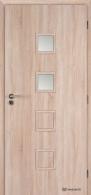 Masonite interiérové dveře kašírované QUADRA 2