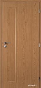 Jednokřídlé dveře Masonite Vertika plné kašírované dub