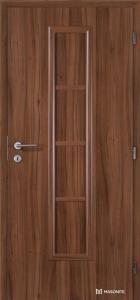 Masonite interiérové dveře AXIS PLNÉ laminát standard ořech
