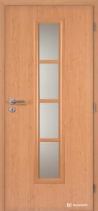 Masonite interiérové dveře AXIS SKLO laminát standard olše