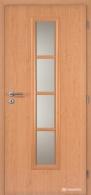 Masonite interiérové dveře AXIS SKLO laminát standard