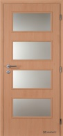 Masonite interiérové dveře DOMINANT SKLO laminát standard