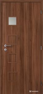 Masonite interiérové dveře GIGA 1 laminát standard ořech