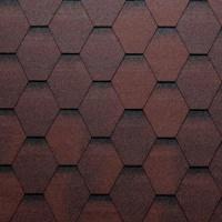 Onduline střešní asfaltový šindel Bardoline TOP hexagonal (samolepící)