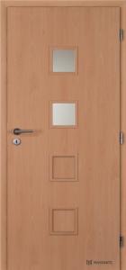 Masonite interiérové dveře QUADRA 2 laminát standard buk