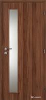 Masonite interiérové dveře VERTIKA SKLO laminát standard
