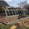 Zahradní skleník z polykarbonátu 2DUM 3