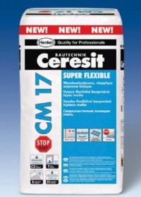 Flexibilní bezprašné lepidlo Ceresit CM 17 Stop Dust