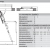 Schéma půdních schodů LTK Energy