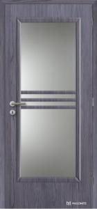Dveře Masonite Panorama CPL lamminát deluxe fleetwood lávově šedý