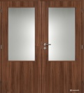 Masonite interiérové dveře 2/3 SKLO dvoukřídlé laminát standard