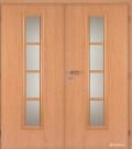 Masonite interiérové dveře AXIS sklo dvoukřídlé laminát standard