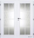 Masonite interiérové dveře ELIDA bílá pór dvoukřídlé
