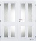 Masonite interiérové dveře HECTOR bílá pór dvoukřídlé