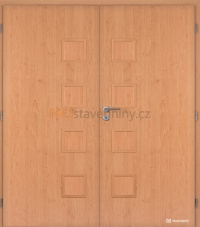 Dvoukřídlé dveře Masonite Giga plné