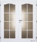 Masonite interiérové dveře OCTAVIANUS bílá pór dvoukřídlé