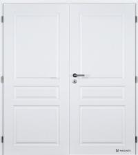 Dvoukřídlé dveře Masonite Troja bílá pór