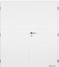 Protipožární dveře Msonite Quatro dvoukřídlé