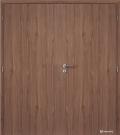 Masonite protipožární dvoukřídlé dveře kašírované plné