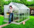 Lanitplast zahradní skleník VITAVIA VENUS (PC 4 mm) stříbrný