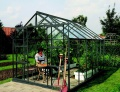 Lanitplast zahradní skleník VITAVIA URANUS (sklo 3 mm) zelený