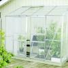 Lanitplast zahradní skleník IDA 3300 (PC 4 nebo 6 mm) stříbrný