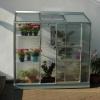 Lanitplast zahradní skleník IDA 1300 (PC 4 nebo 6 mm) stříbrný
