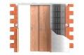 JAP stavební pouzdro 730 NORMA PARALLEL do zdi