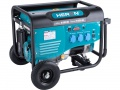 elektrocentrála benzínová 5,5kW/13HP, pro svařování, podvozek