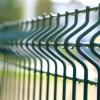 Detail zakončení plotového panelu na tupo