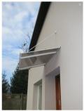 Lanitplast vchodová stříška SP1 120/70 cm bílá