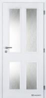 Masonite interiérové dveře HECTOR bílá pór