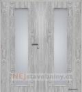 Masonite interiérové dveře kašírované LINEA dvoukřídlé