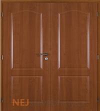 Dvoukřídlé dveře Masonite Claudius PVC fólie