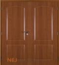 Masonite interiérové dveře CLAUDIUS PVC dekor dvoukřídlé