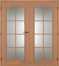 Masonite interiérové dveře OCTAVIANUS PVC dekor dvoukřídlé