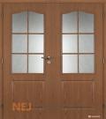 Masonite interiérové dveře SOCRATES PVC dekor dvoukřídlé