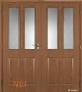 Masonite interiérové dveře ACHILLES PVC dekor dvoukřídlé