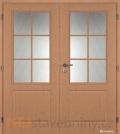 Masonite interiérové dveře AULIDA PVC dekor dvoukřídlé