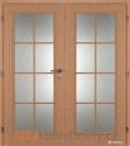 Masonite interiérové dveře ELIDA PVC dekor dvoukřídlé
