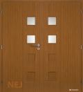Masonite interiérové dveře GIGA 2 dvoukřídlé laminát premium