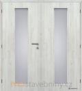 Masonite interiérové dveře LINEA dvoukřídlé laminát premium